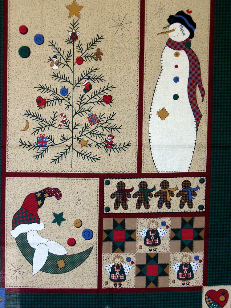 Cranston Homespun Christmas Tree Primitive Wallhanging