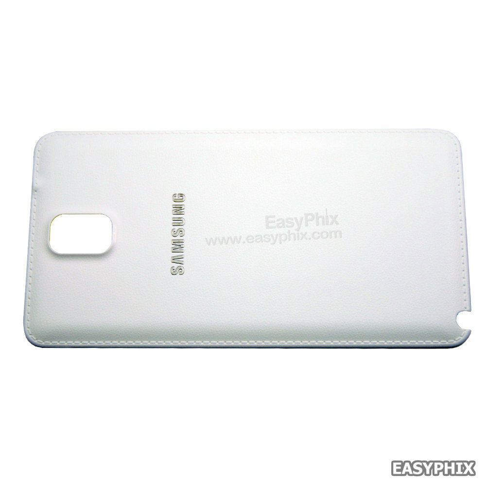 samsung galaxy note 3 n9005 back battery cover replacement white ebay. Black Bedroom Furniture Sets. Home Design Ideas