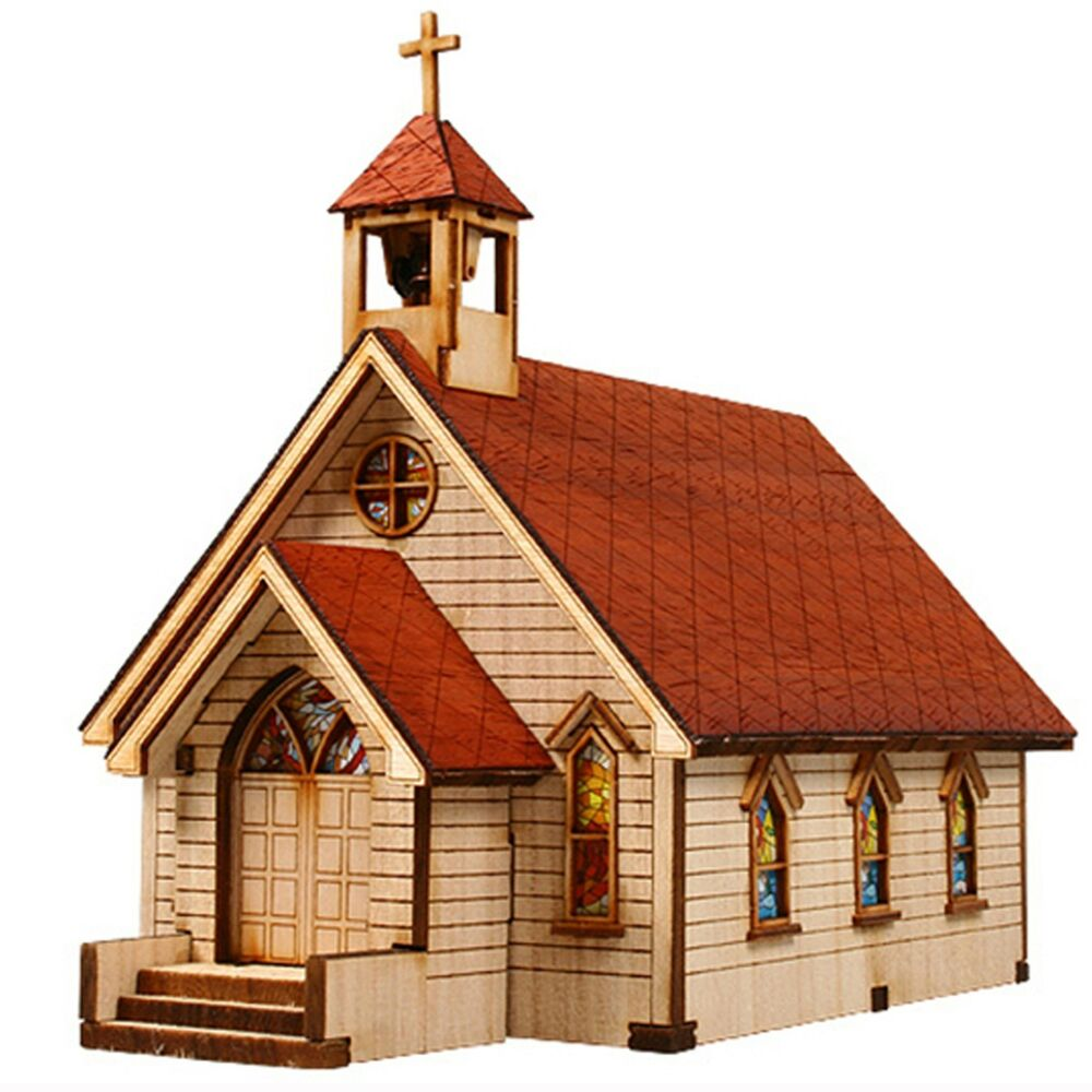 Ho Scale Church Building Kit