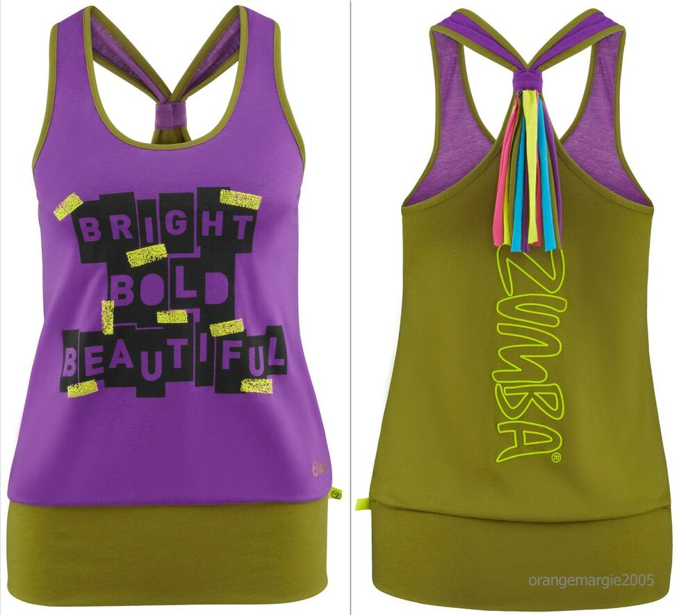 zumba fitness top shirt racerback tank tee fr convention. Black Bedroom Furniture Sets. Home Design Ideas