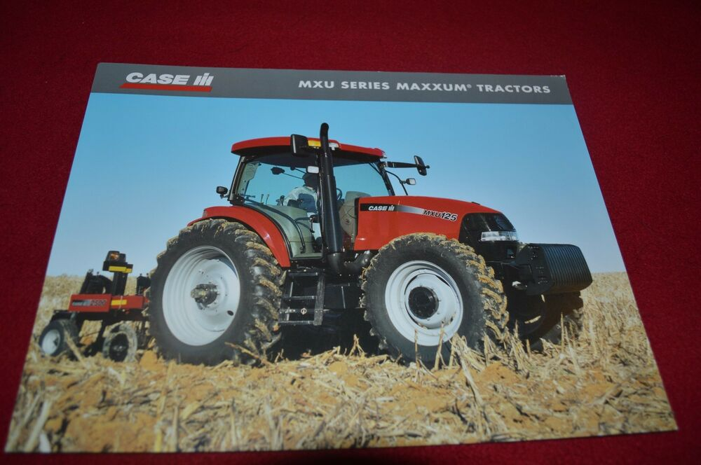 Case Tractor Showroom : Case international mxu tractor dealer s