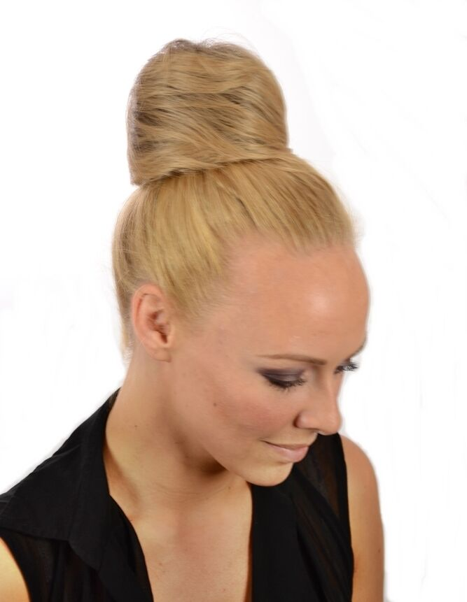 Large Top Knot Up Do Hairpiece Wrap Effect Drawstring