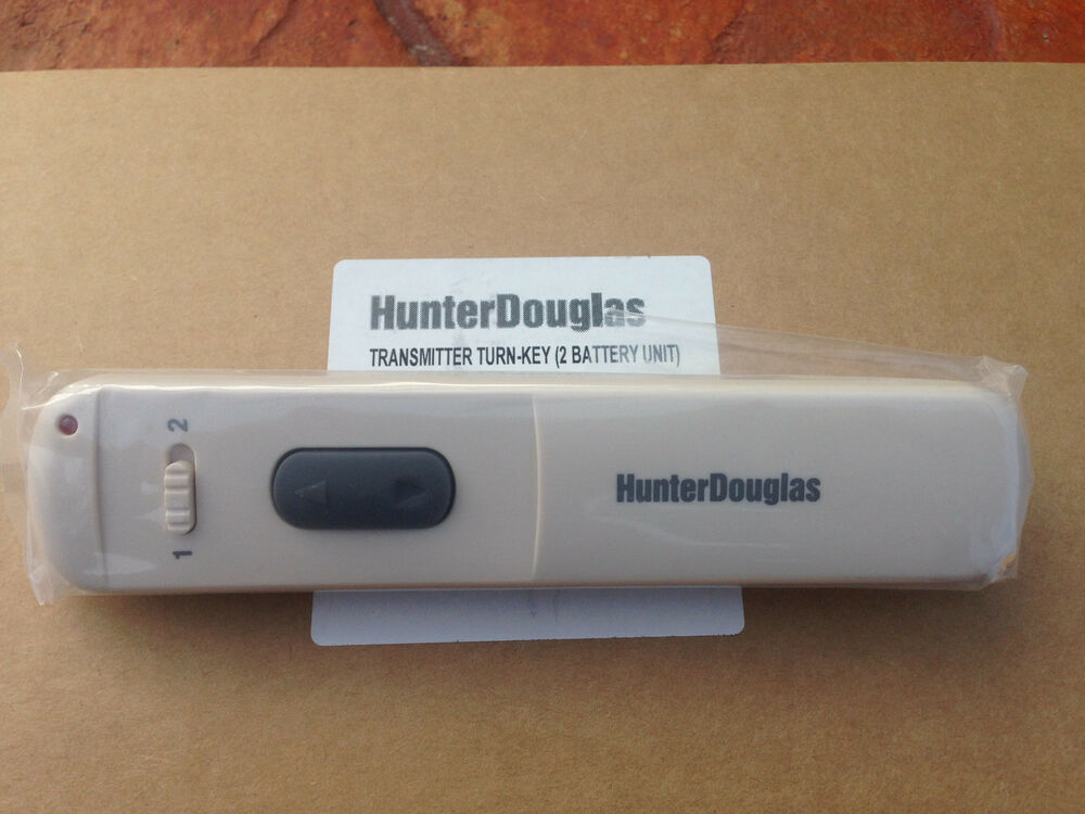 Hunter douglas blinds duette powerrise remote control for Motorized blinds remote control