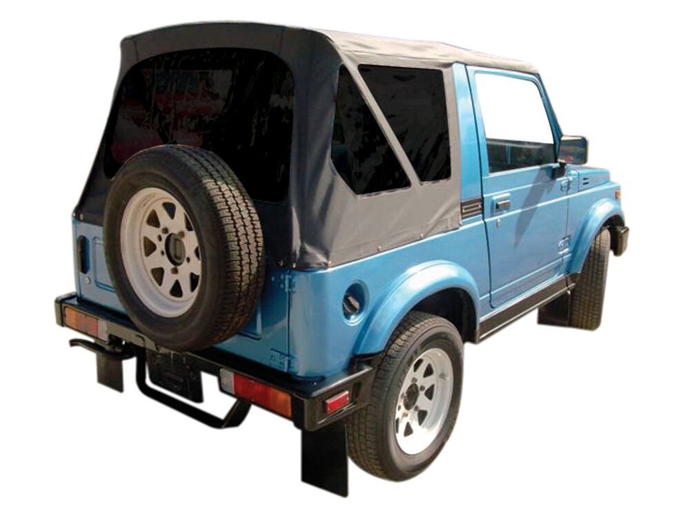 Suzuki Samurai Soft Top Tinted Windows