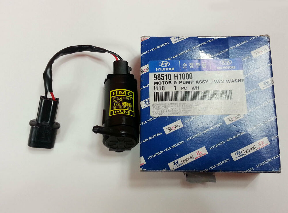 Hyundai Terracan 2001 2006 Genuine Oem Washer Motor Pump