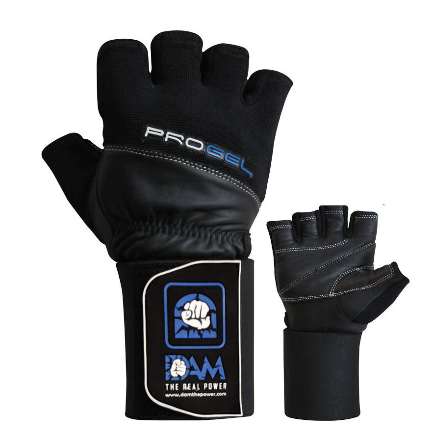 Dam Pro Gel Weight Lifting Gloves Gym Body Building Gloves