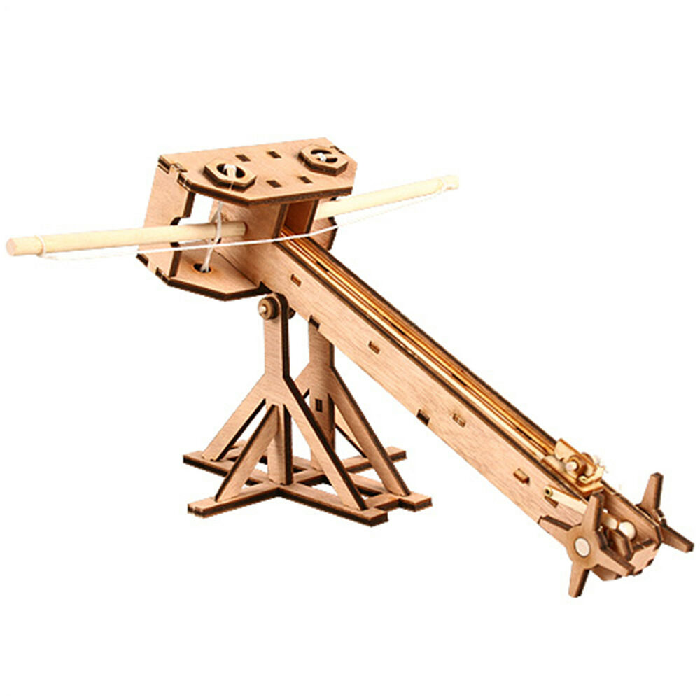 BALLISTA Wooden Model Kit Miniature Catapult Acient Arms ...