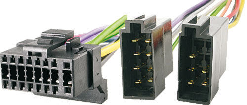 s l1000 alpine 16 pin black socket wiring harness iso loom car radio cde Alpine Stereo Harness at webbmarketing.co