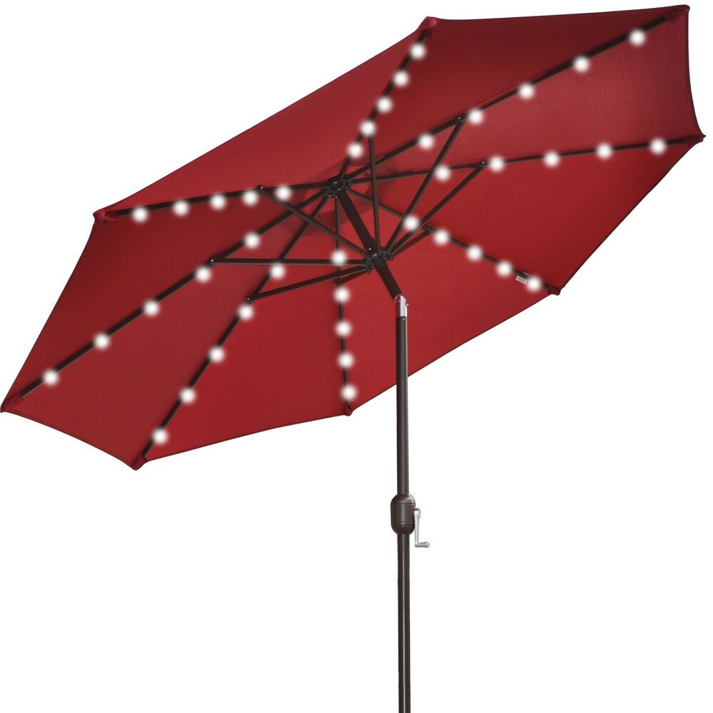 solar outdoor umbrella