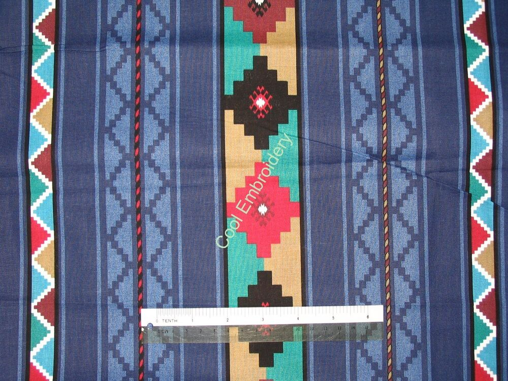 Native american designs cotton quilting fabric choose for Cotton quilting fabric