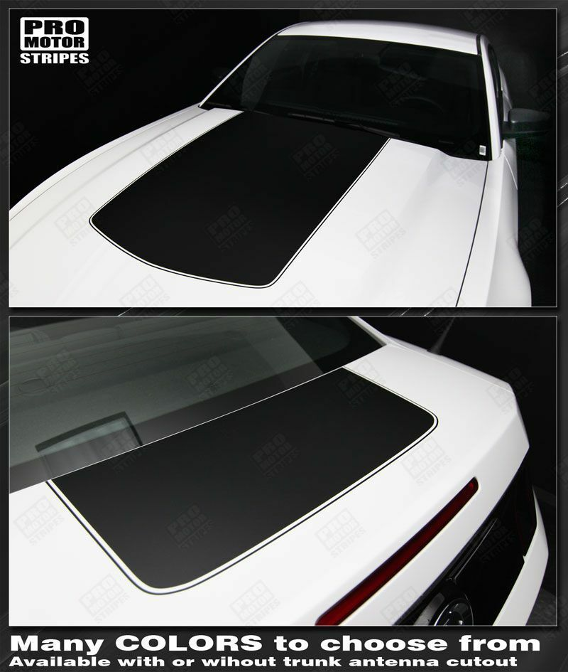 Mustang Decals And Stripes >> Ford Mustang Hood and Trunk Stripes 2013 2014 2010 2011 2012 Decals Pro Motor | eBay