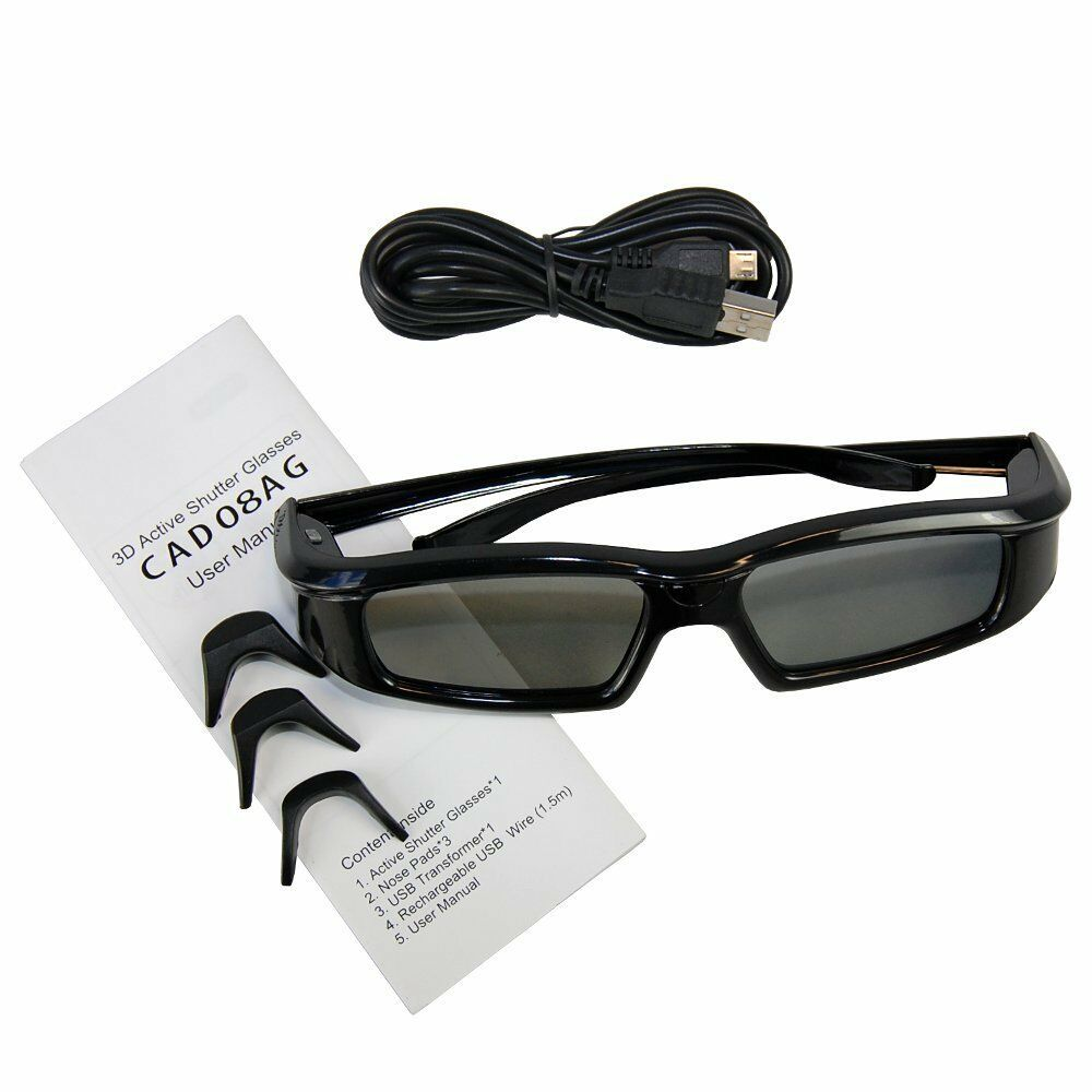 3D Active Shutter TV Glasses For Samsung UA55B8000XF