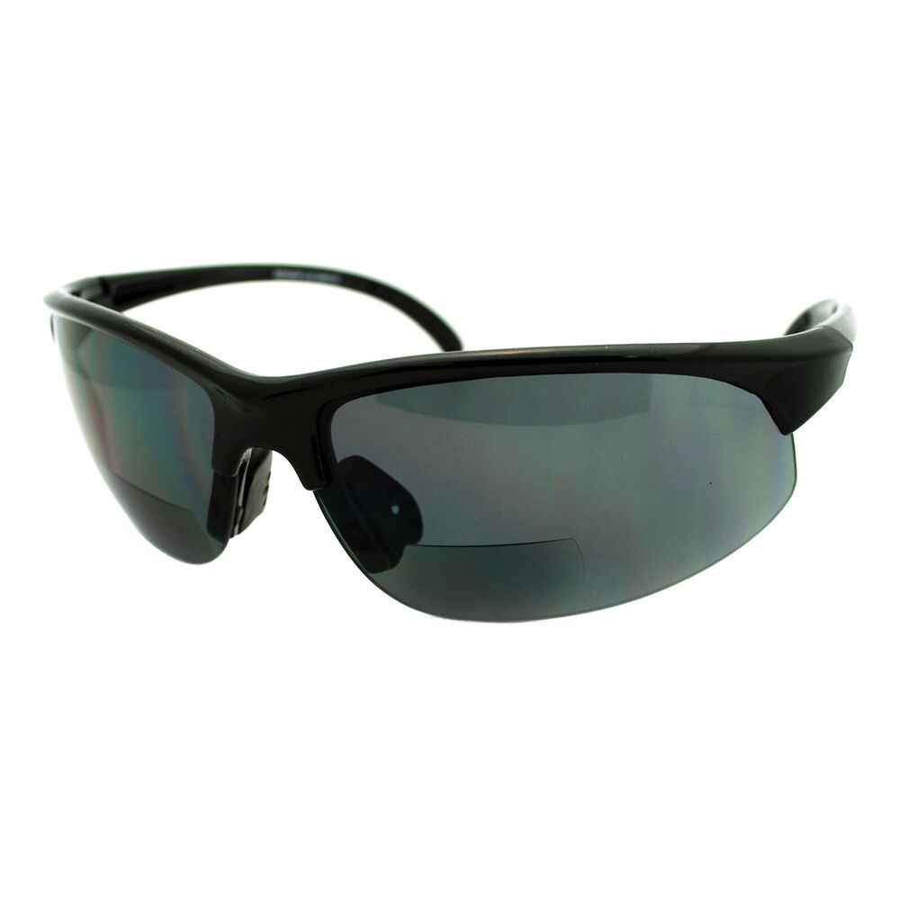 mens sunglasses with bifocal reading lens half sports