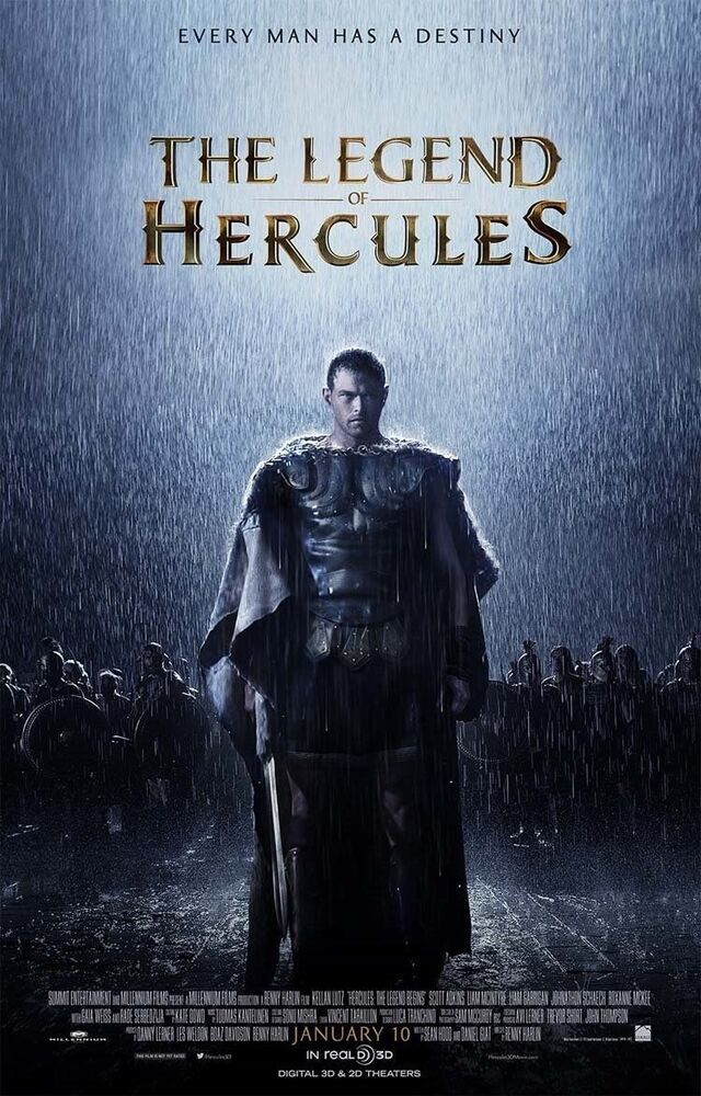 Win A Hercules Movie Poster Autographed by Kellan Lutz ... |Kellan Lutz Hercules Poster
