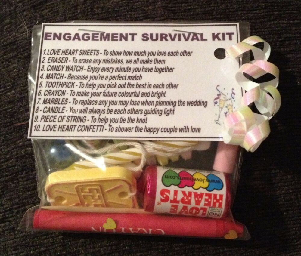 ... Kit - Unusual Novelty Engagement Gift Present Fiance Fiancee eBay