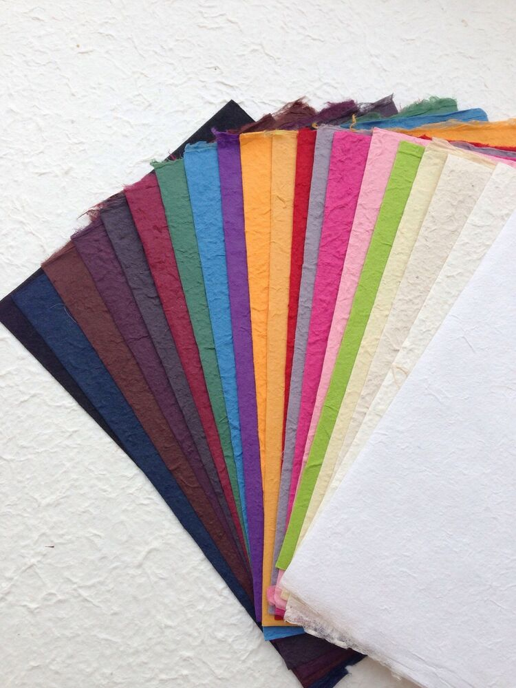 20 Sheets of handmade SAA MULBERRY PAPER - Craft ...