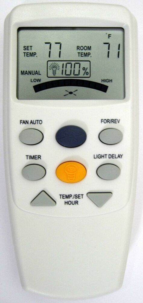 Hampton Bay Ceiling Fan Remote Fan9t W Reverse Dimmer