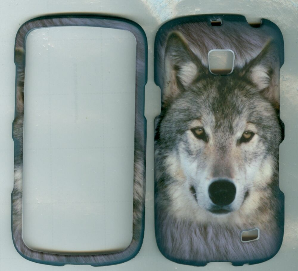 grey wolf Samsung Illusion SCH-i110 Verizon Android PREPAID phone CASE ...