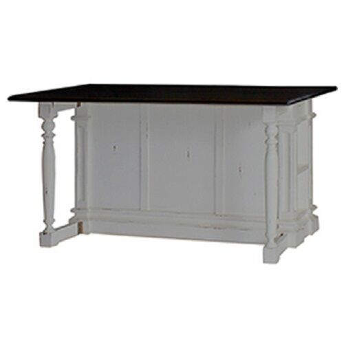 white distressed kitchen island counter drop leaf bar top ebay. Black Bedroom Furniture Sets. Home Design Ideas
