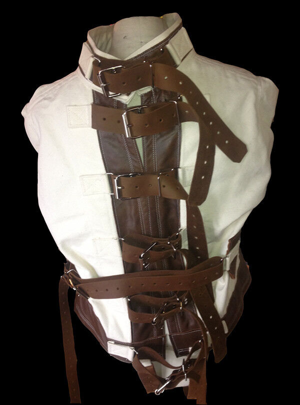Bound to be Loved Straight jacket leather Small