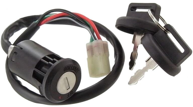 Ignition Key Switch For Honda Quad Trx450er Trx 450 Er