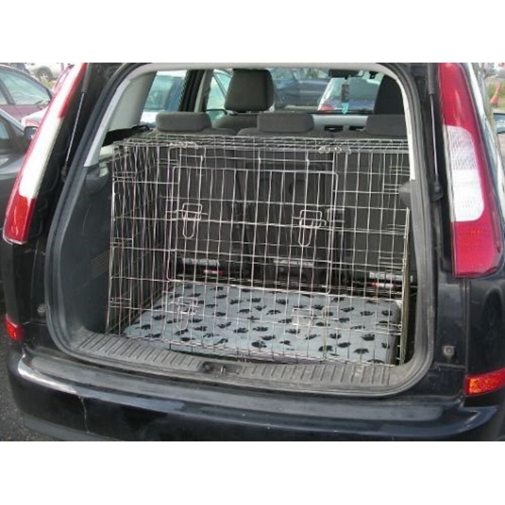 Pet World Ford Cmax 03 10 Sloping Car Dog Cage Boot Travel