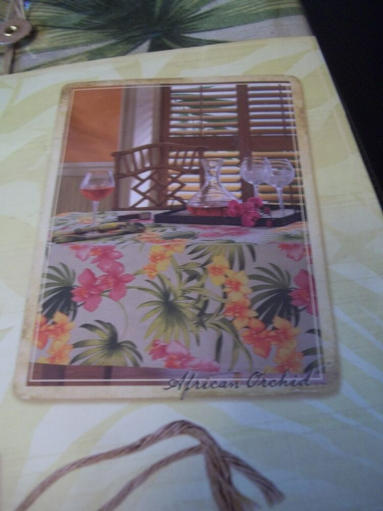 TOMMY BAHAMA FABRIC TABLE CLOTH AFRICAN ORCHID OBLONG 60  : s l1000 from www.ebay.co.uk size 750 x 1000 jpeg 78kB