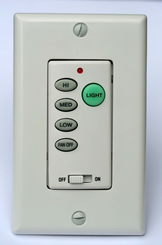 Harbor Breeze Ceiling Fan Remote Wall Control UC9050T also Hampton Bay Litex : eBay
