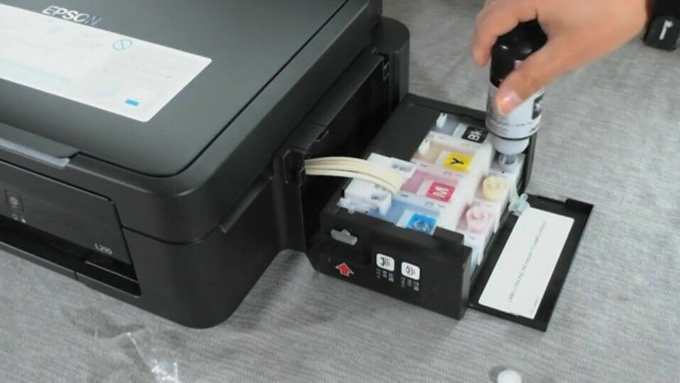 Epson L210 All In One Ink Tank System Printer Aio