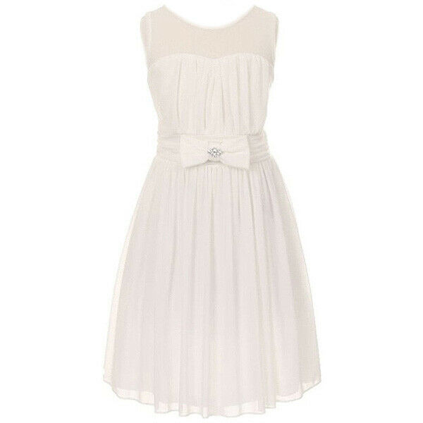 Ivory white navy blue flower girl dress petals wedding for Navy dresses for weddings