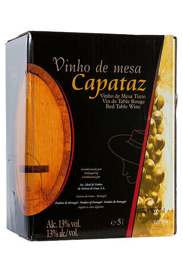 Capataz Rot Wei Wein Aus Portugal Bag In Box 5l 2 00 L
