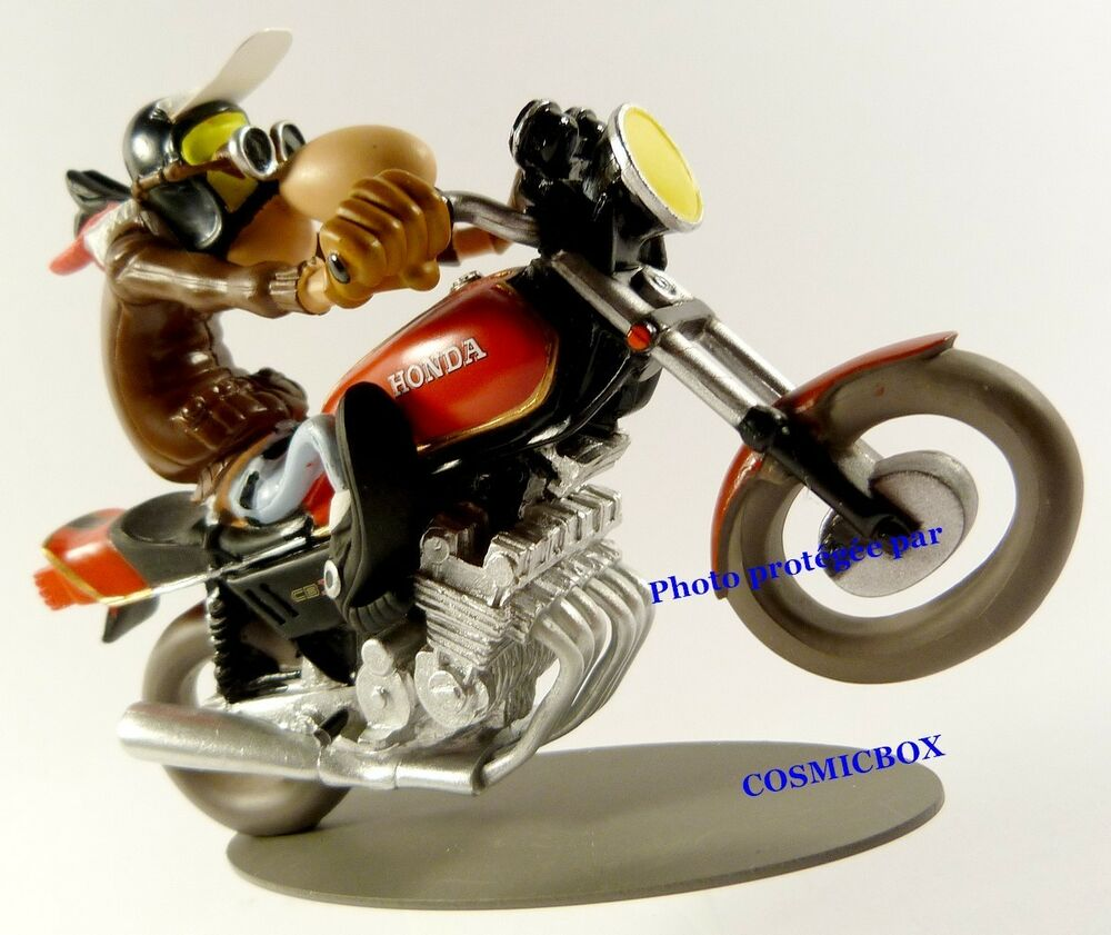 motorbike honda 1000 cbx wheeling joe bar team moto motorcycle race resin figure ebay. Black Bedroom Furniture Sets. Home Design Ideas