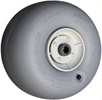 """Wheeleez 30cm (11.8"""") Grey Wheels with 1"""" bearing - soft pneumatic tire for sand"""