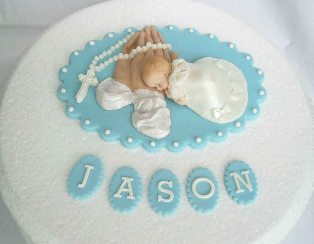 Baby Boy Cake Decorations Uk