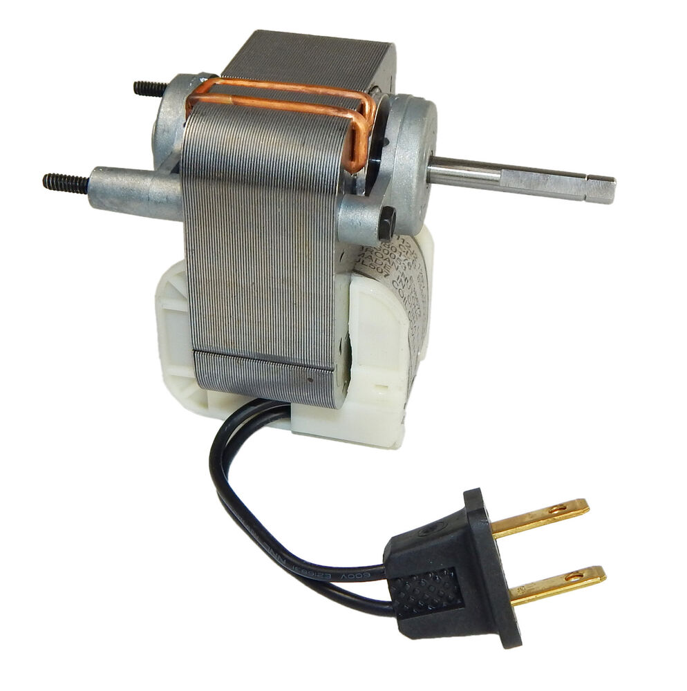 Broan replacement vent fan motor 1 5 amp 3000 rpm 120v for Broan exhaust fan motor replacement