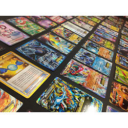 Kyпить Pokemon Card Lot 100 OFFICIAL TCG Cards Ultra Rare Included - GX EX MEGA + HOLOS на еВаy.соm
