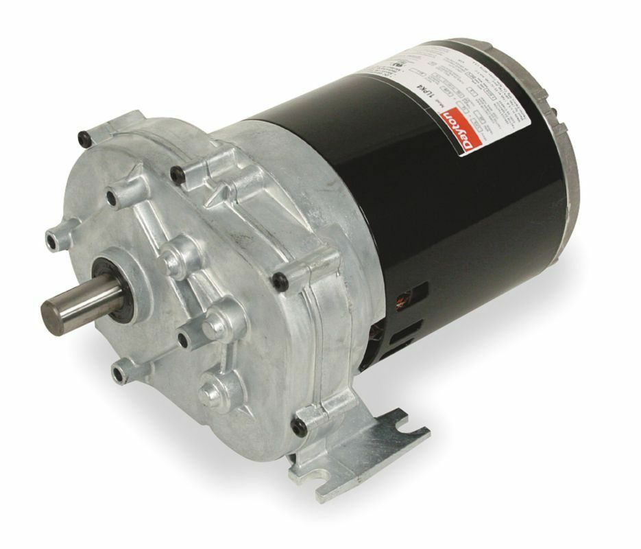 Dayton parallel shaft split phase gear motor 1 4 hp 6 rpm for 1 20 hp electric motor