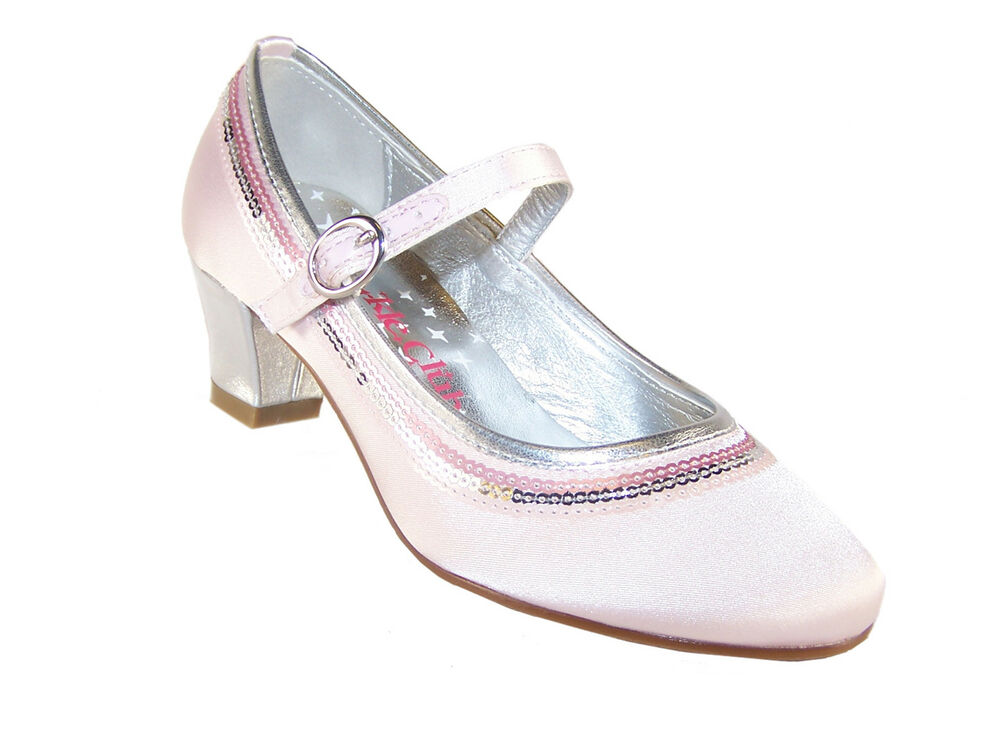Pink Wedding Shoes Low Heel