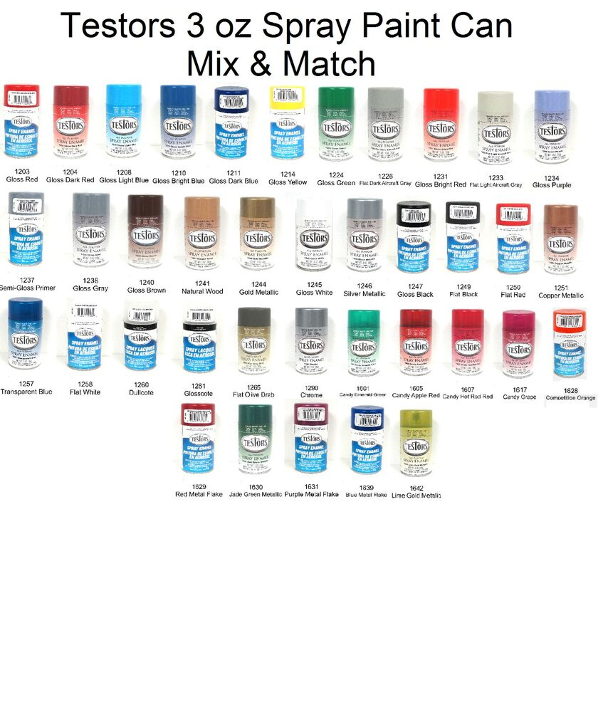 Where To Buy Testors Spray Paint