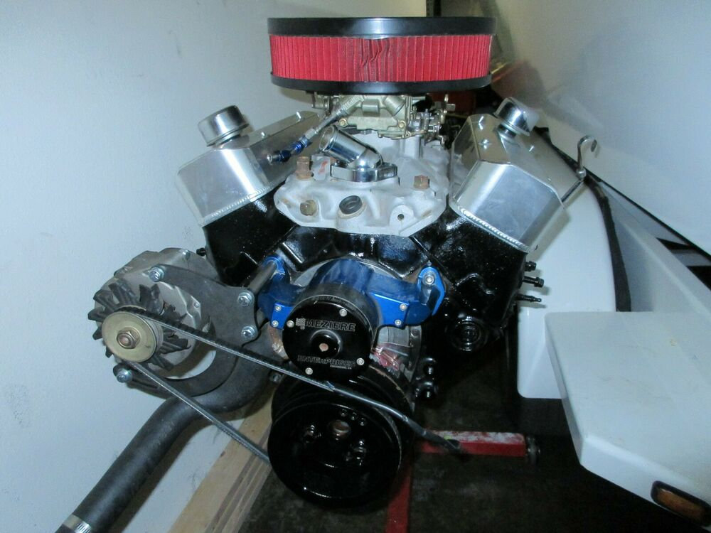 sbc small block chevy electric water pump alternator