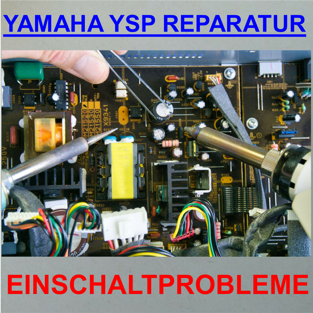 Yamaha Ysp Power Problem