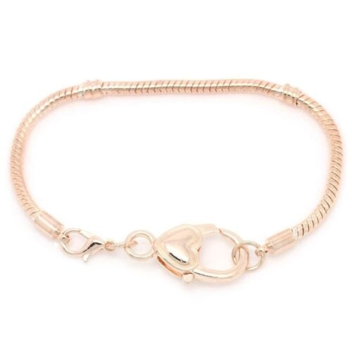 add a bead 3mm gold 6 75 quot snake chain bracelet