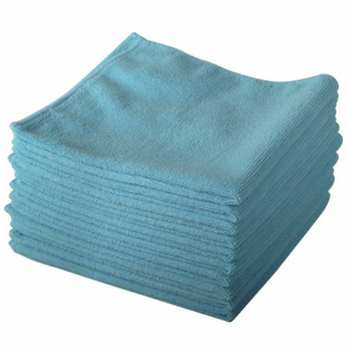 10 x microfibre duster cleaning cloth polishing waxing. Black Bedroom Furniture Sets. Home Design Ideas