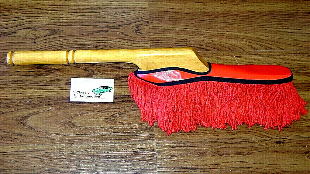 car duster real wood large handle brush about 23 free shipping ebay. Black Bedroom Furniture Sets. Home Design Ideas