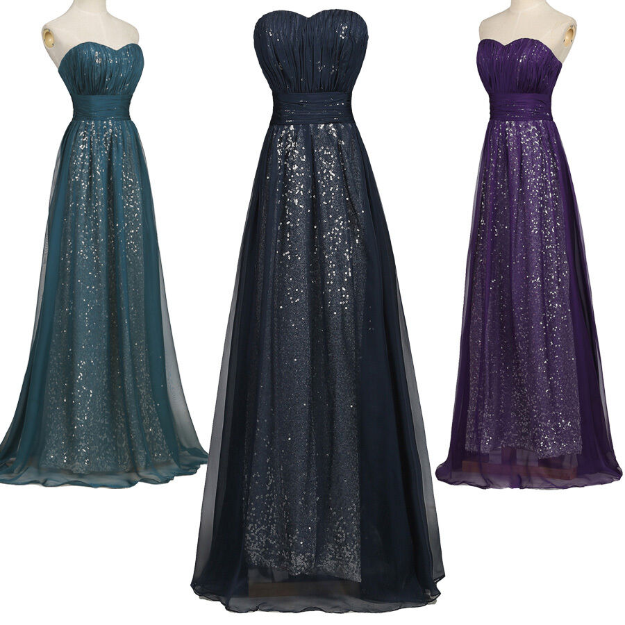 Sale 50s navy blue sequins formal prom party cocktail dresses wedding