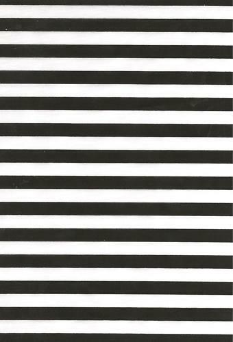 Black And White Stripe Poly Cotton Fabric Material Ebay