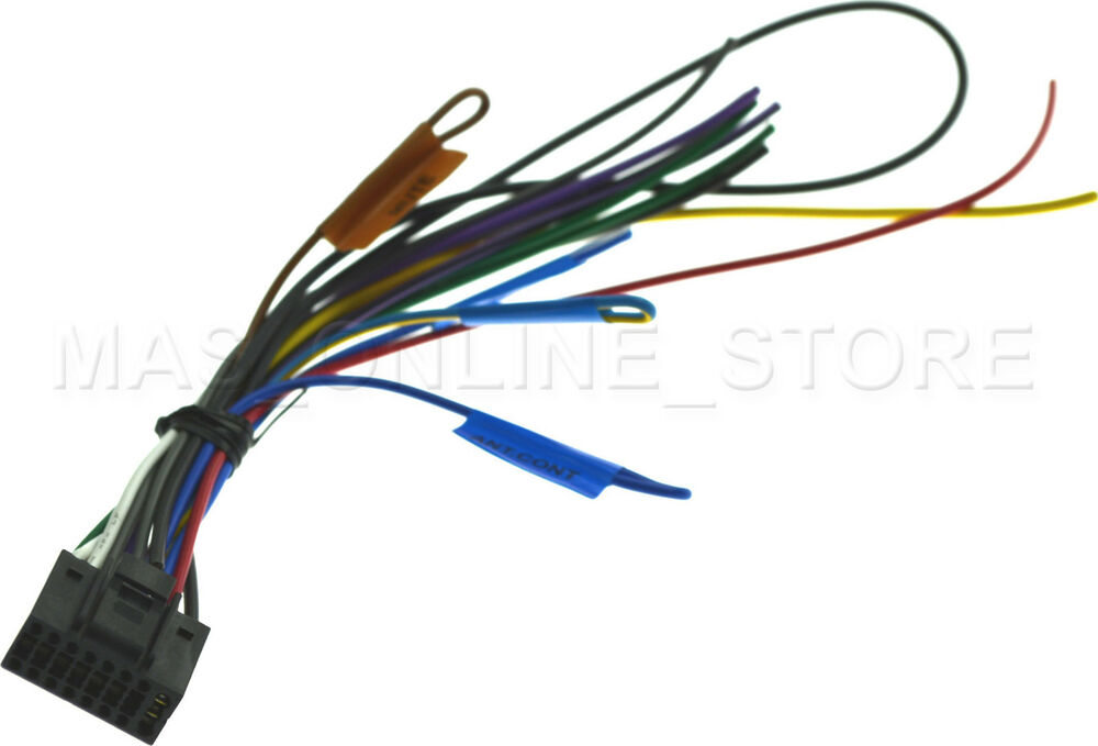 Wiring Diagram For Kenwood Kdc Bt652u : Kenwood kdc u genuine wire