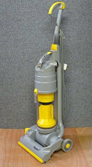REFURBISHED DYSON DC04 Silver and yellow bagless vacuum ...