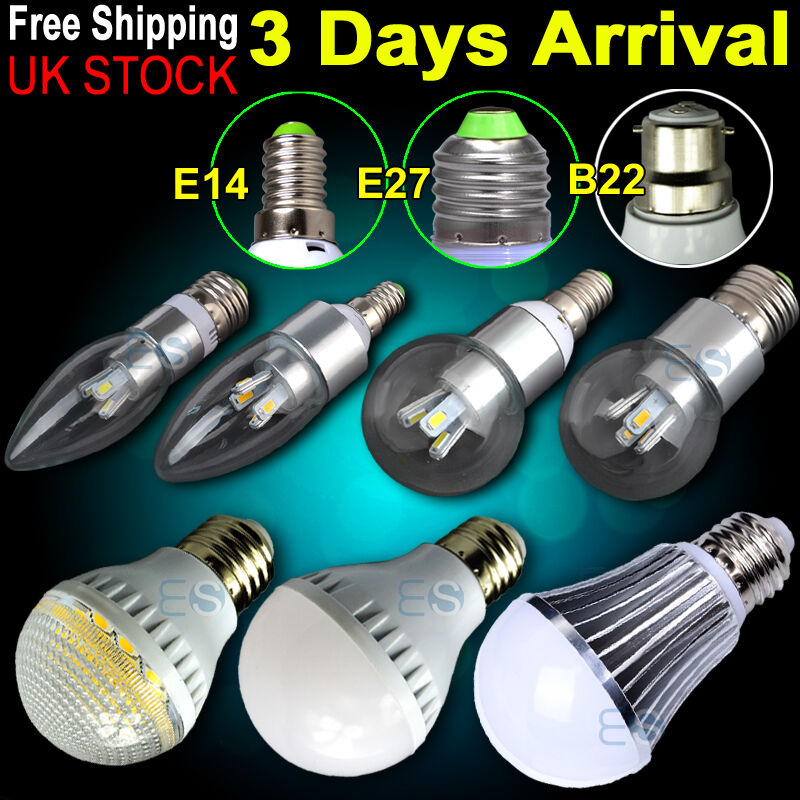 e14 e27 b22 clear candle bulb bayonet golf led light lamp dimmable non dimmable ebay. Black Bedroom Furniture Sets. Home Design Ideas