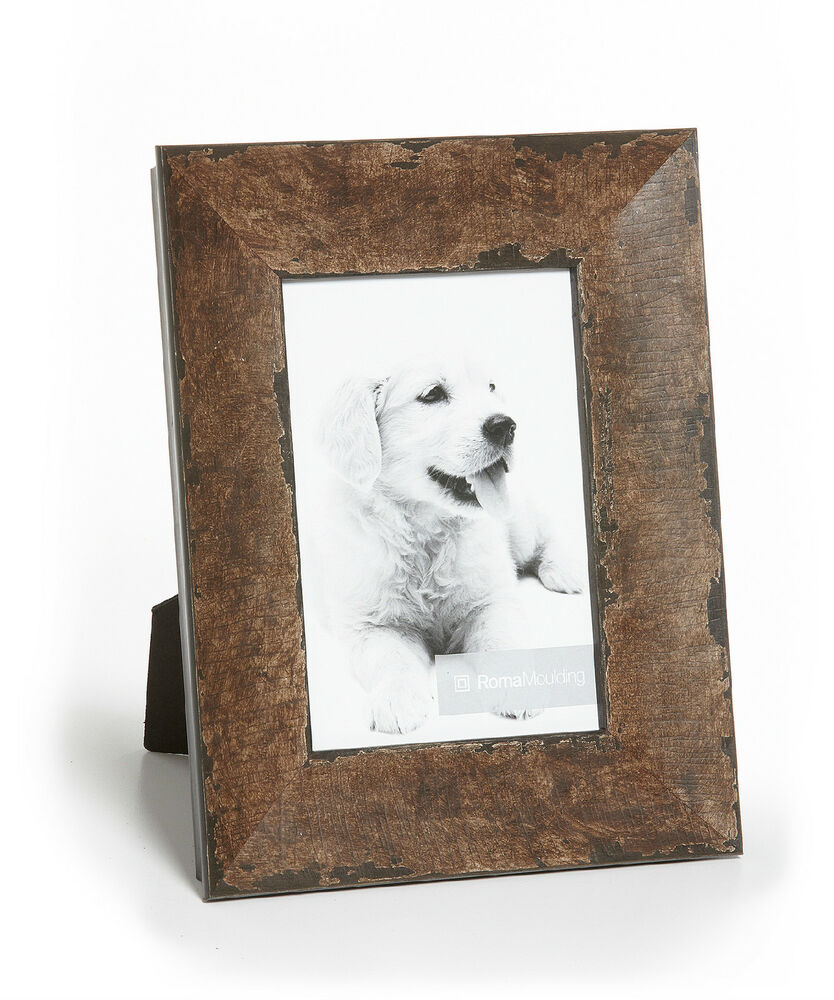 la rochelle roma moulding old world chocolate truffle wood photo frame ebay. Black Bedroom Furniture Sets. Home Design Ideas